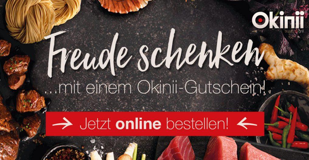 Okinii Gutschein online Kaufen